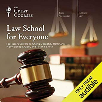 The Great Courses – Law School for Everyone Audiobook