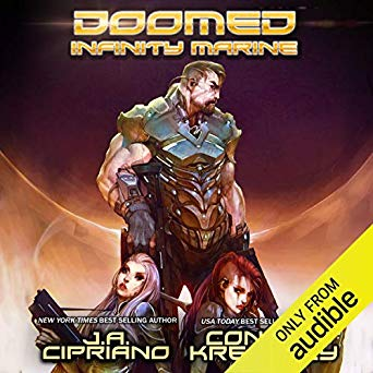 J. A. Cipriano – Doomed Infinity Marine Audiobook