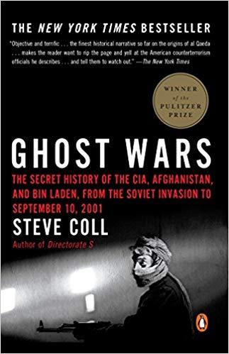 Steve Coll - Ghost Wars Audio Book Free